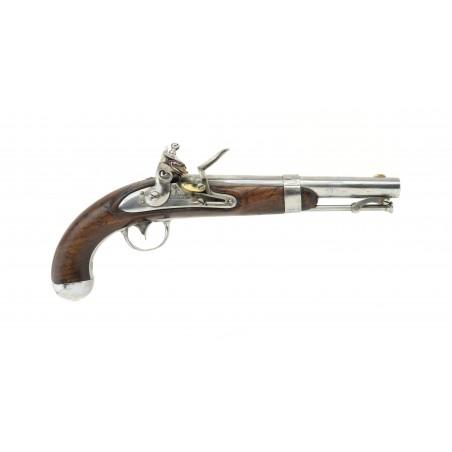 U.S. Model 1836 Flintlock Pistol (AH6521)