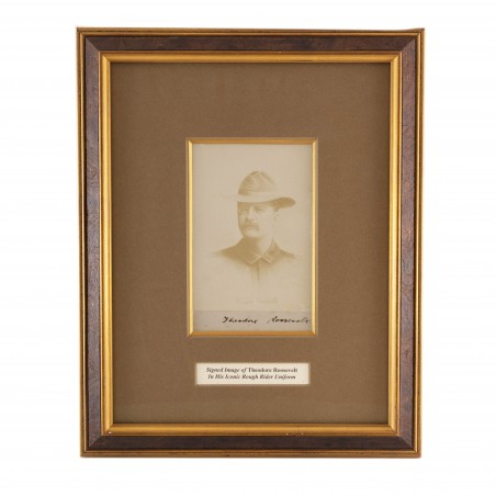 Theodore Roosevelt Photograph and Signature (MIS1333)