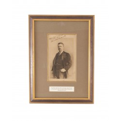 Theodore Roosevelt Signed...