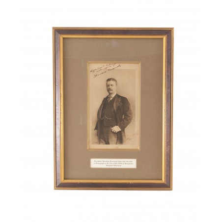 Theodore Roosevelt Signed Photograph (MIS1334)