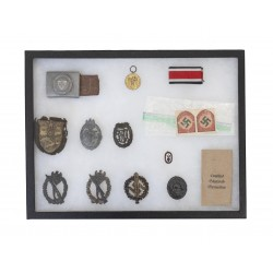 Lot of German WWII Medals &...
