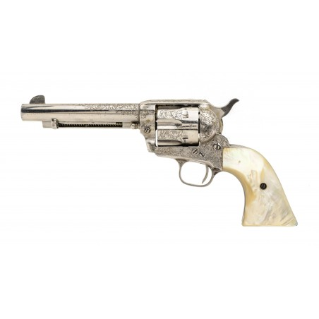 Beautiful Factory Engraved Colt Single Action Army (C16935)
