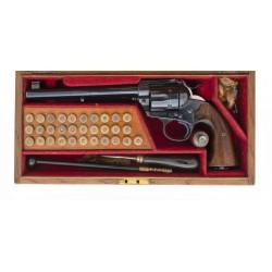 Cased Colt Flat Top Bisley...