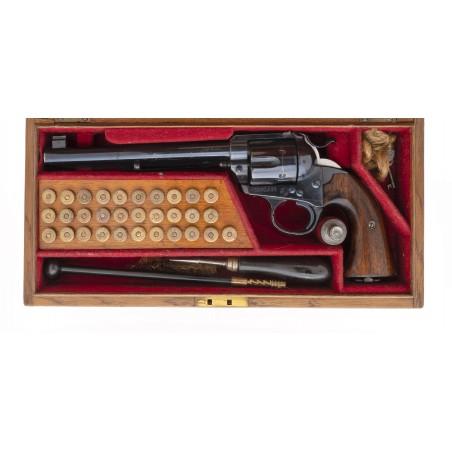 Cased Colt Flat Top Bisley Model (AC221)