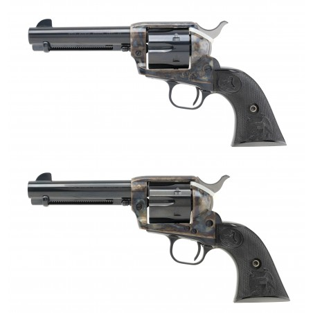 Consecutive Pair of Colt 3rd Gen. SAA'S .45 LC (C17388)