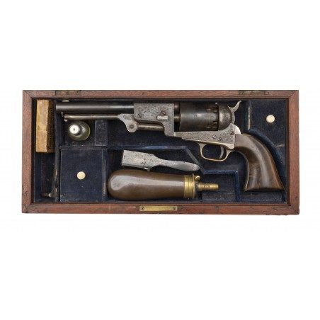 Cased Factory Engraved Colt 3rd Dragoon (AC239)