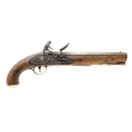 """War of 1812 Canadian Militia or Also known as """"Indian Contract Dragoon Pistol by Wheeler (AH6645)"""