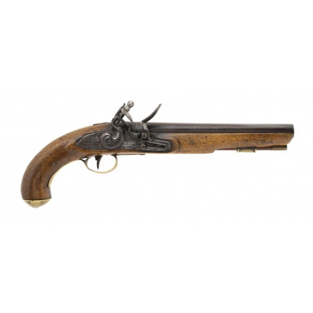 """War of 1812 Canadian Militia or Also known as """"Indian Contract Dragoon Pistol by Moxham (AH6648)"""