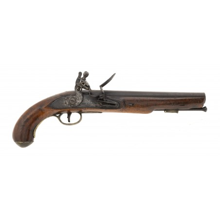 """War of 1812 Canadian Militia or Also known as """"Indian Contract Dragoon Pistol by Hollis (AH6649)"""