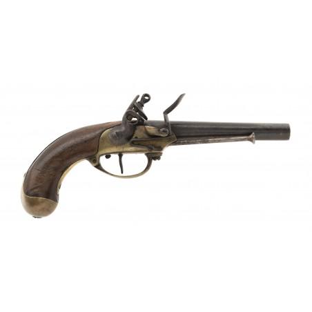 French Model 1777 Flintlock Pistol Maubeuge (AH6653)