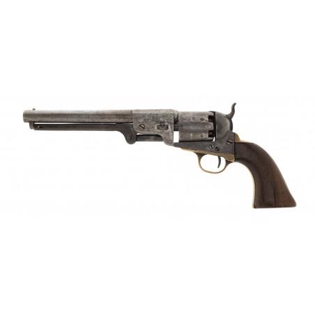 Very Fine Early Leech & Rigdon Confederate Revolver (AH6660)