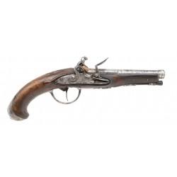 Unmarked Flintlock Pistol...