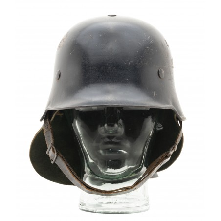 German WWII Fire Police Helmet (MM1476)