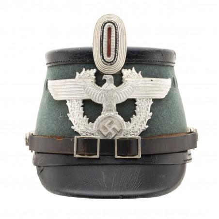 German WWII Municipal Police Shako (MM1460)
