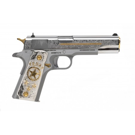 Colt Silver & Gold Special Edition .38 Super (C17478) New