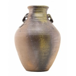 Signed Earth Ware Vase...