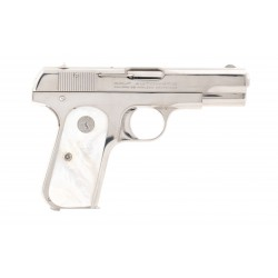 Beautiful Nickel Colt 1903...