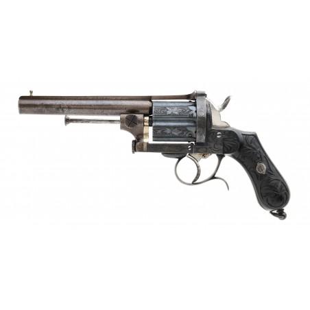 Superb Belgian Pinfire Revolver 10.3mm (AH6790)
