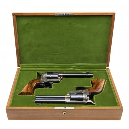 Pair of Colt Single Action Army 2nd Gen .45LC (C17532)