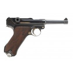 Mauser G Date Police Luger...
