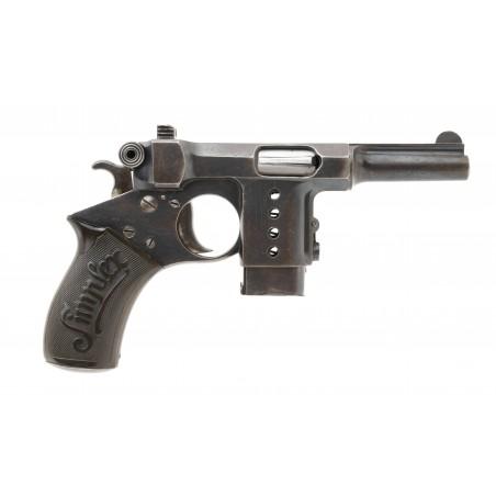 Bergman Simplex Semi Auto Pistol 8mm Bergman (PR54066)