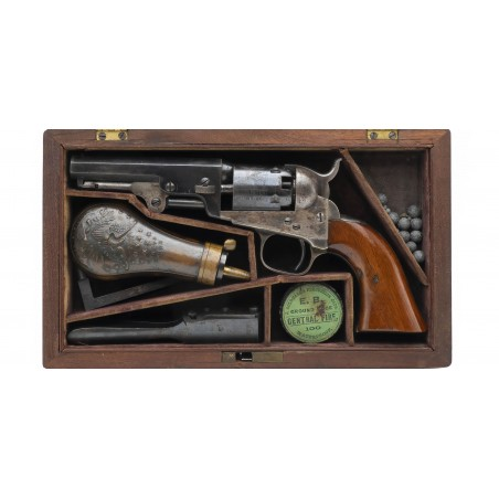 Cased Colt 1849 Pocket Revolver (AC14)