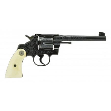Factory Engraved Colt Officers Model Target .38 Special (C16131)