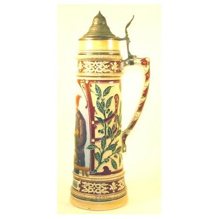 German Pottery Stein  (CUR40)